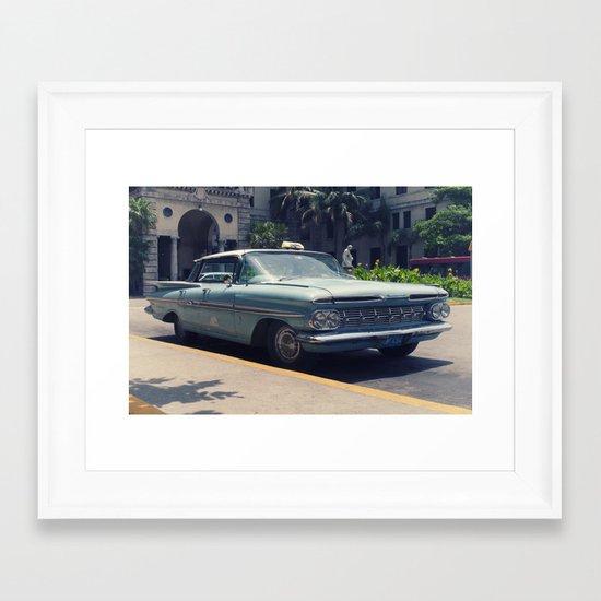 car 1 Framed Art Print