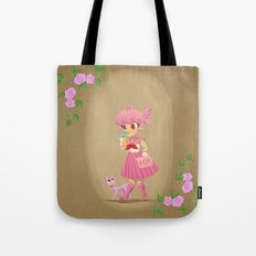 Retro Sailor Chibi Moon Tote Bag