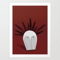 Headspace Art Print
