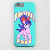 Ponytail Pony iPhone 6 Slim Case