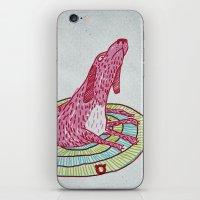 006_pink Dog iPhone & iPod Skin