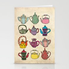 Teapots Stationery Cards