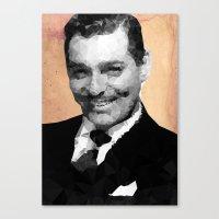 Clark Canvas Print