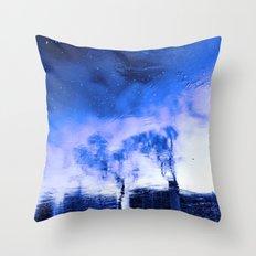 Winter Blue(s) 2>3 Throw Pillow