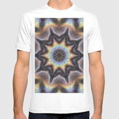 Tandava SMALL Mens Fitted Tee White