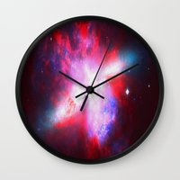 Space. In Color. Wall Clock