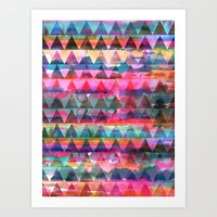 Kiana Triangle Art Print