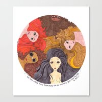 Giocondas Canvas Print