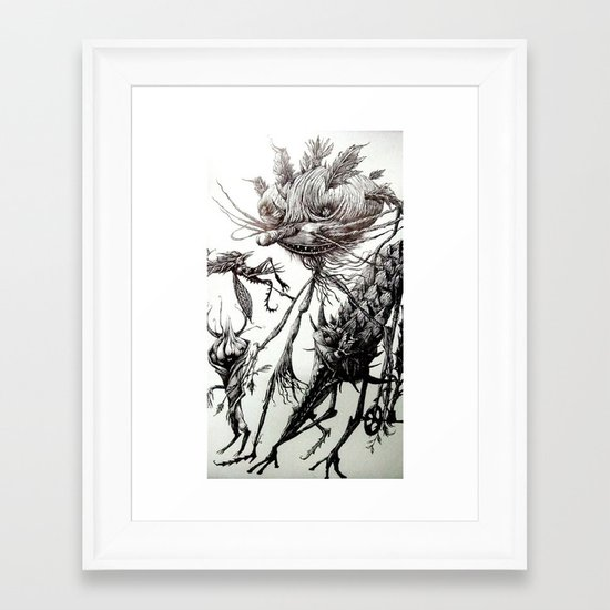 belial Framed Art Print