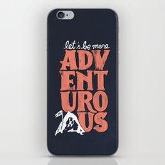 More Adventurous! iPhone & iPod Skin