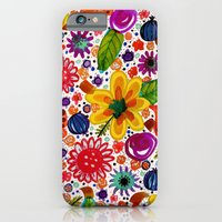 iPhone Cases featuring calypso by sylvie demers