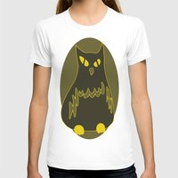 Owlie Womens Fitted Tee White SMALL