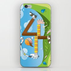Fore of Clubs iPhone & iPod Skin