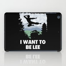 I want to be Lee iPad Case