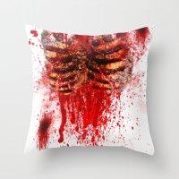 Zombie 2 Throw Pillow