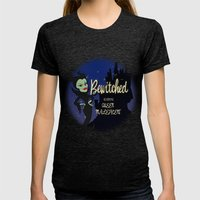 Bewitched! Womens Fitted Tee Tri-Black SMALL