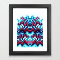 THRILLSEEKER Framed Art Print