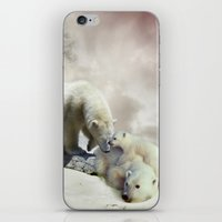 Polar Bears iPhone & iPod Skin