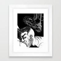 Curbside Service Framed Art Print