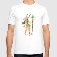 Jungle Creature Mens Fitted Tee White SMALL