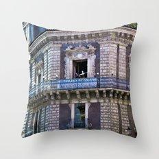 Sicilian Facade Of Baroq… Throw Pillow