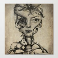 Double Face Canvas Print