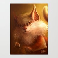 ThunderCats Collection - Snarf Canvas Print