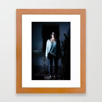 last one standing Framed Art Print