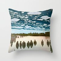 The Pack Throw Pillow