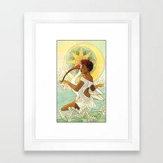 Tarot Series: The Star Framed Art Print
