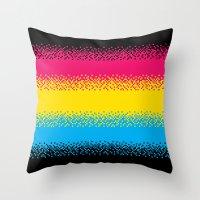 Pixel Perfect Throw Pillow