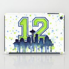 Hawks 12th Man Fan Art iPad Case