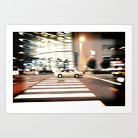 In The Fast Lane Art Print