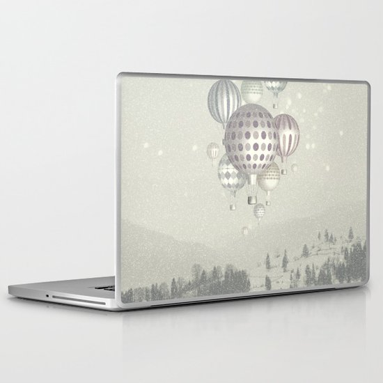 Winter Dreamflight Laptop & iPad Skin