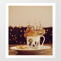 Splish Splash Sploosh Art Print