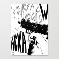 Wacka Wacka Canvas Print