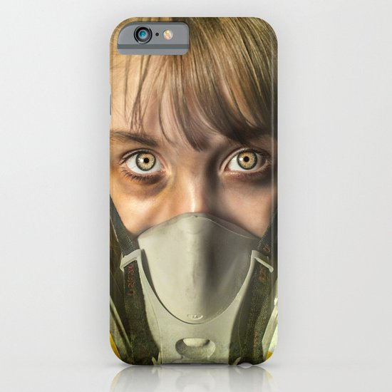 The day after ~ Survivor (treated version) iPhone & iPod Case