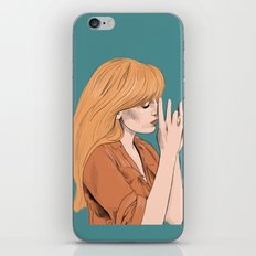 Florence Welch - Digital portrait - Florence and the machine iPhone & iPod Skin
