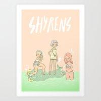Shyrens Art Print