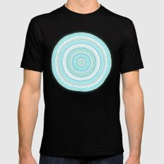 Dreamy Carousel Mens Fitted Tee Black SMALL