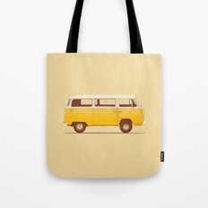 Yellow Van Tote Bag