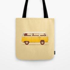 Yellow Van Tote Bag