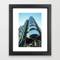 Lloyds Of London Framed Art Print