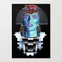 ::Goddess Of Orient:: Canvas Print