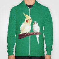 Budgie And Cockatiel Hoody