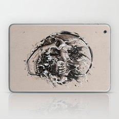 Skull With Demons Strugg… Laptop & iPad Skin