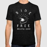 Breathe Easy Mens Fitted Tee Tri-Black SMALL