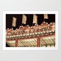 Circus? Circus! Art Print