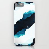 iPhone Cases featuring Teal Isolation by Stoian Hitrov - Sto