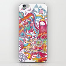 Together We're Awesome! iPhone & iPod Skin
